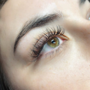 Hybrid Lash Extension Sample 2